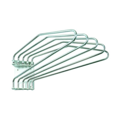 Wall-mountable apron rack