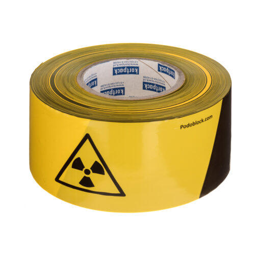 Radiation Warning Tape