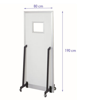 Mobile Lead X-ray Shield Defence