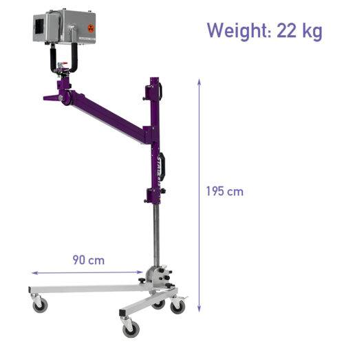Mobile x-ray generator stand